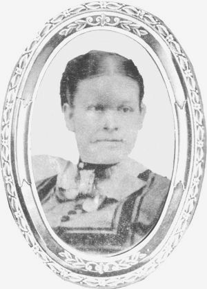 Harriet Anna Gay as newlywed, 1869