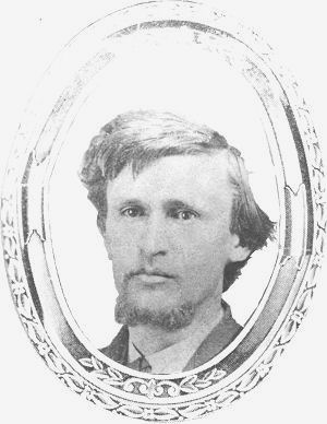 John G. Robb, Harriet's newlywed husband, 1869